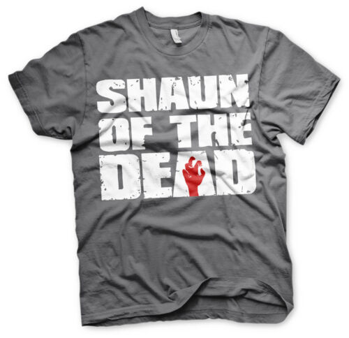 Officially Licensed Shaun of the Dead Logo Men/'s T-Shirt S-XXL Sizes