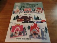 American School Of Needlework Plastic Canvas Home For Christmas Village 2 2138
