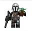 2-SET-The-Mandalorian-And-Baby-Yoda-Minifigure-Star-War-Lego-MOC-Hot-2020 miniature 2