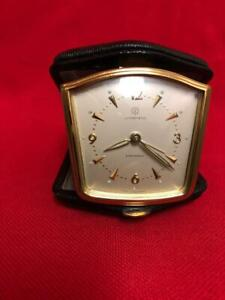 JUNGHANS Germany Vintage Travel/Desk alarm Watch/Clock