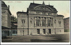 CPA-Carte-Postale-Frankreich-France-1910-20-BOURG-Le-Theatre-Theater-Partie