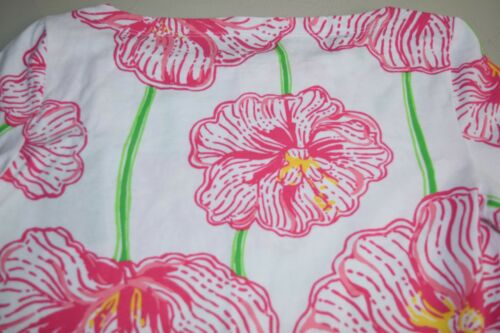 Rose Blanc Neuf Xs Bonnet Lilly Andie Pulitzer Col Haut Trèfle Rond Resort Vert wRvg0q6Rx