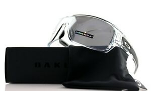 449da18158 Image is loading POLARIZED-New-OAKLEY-TURBINE-ROTOR-Polished-Clear-Black-