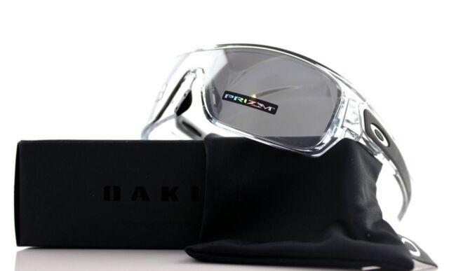 POLARIZED New OAKLEY TURBINE ROTOR Polished Clear Black Sunglasses OO 9307-16 32