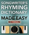 Songwriter's Rhyming Dictionary Made Easy: Comprehensive Sound Links by Jake Jackson (Paperback, 2014)