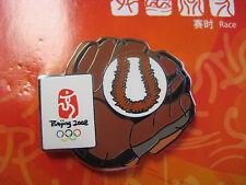 Beijing 2008 Olympic Pin - Softball Glove
