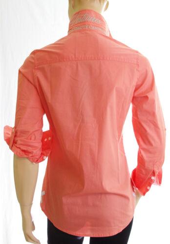 Ajustée Chemise Saumon Principaute Orange Cannoise Femme Vestiaires Regular 5qZwxqBr