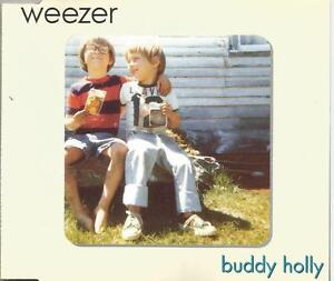 Weezer-Buddy-Holly-1995-CD-single