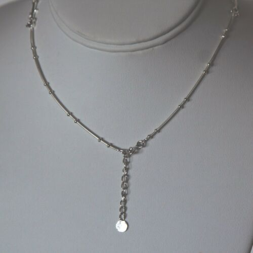 Details about  /Lepos,925 Sterling Silver  Rhodium Plated  Simulated Diamond Bridal Necklace