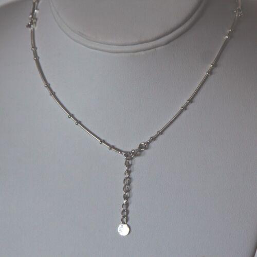 collana similati argento simil Lepos 925 diamanti di rodiato vwdqnaF8
