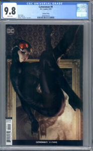 Catwoman #9  Artgerm Variant  DC Comics  1st Print CGC 9.8