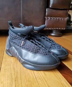 a634da06764 Nike Air Jordan XV 15 Retro Stealth Black Varsity Red 317111-061 ...