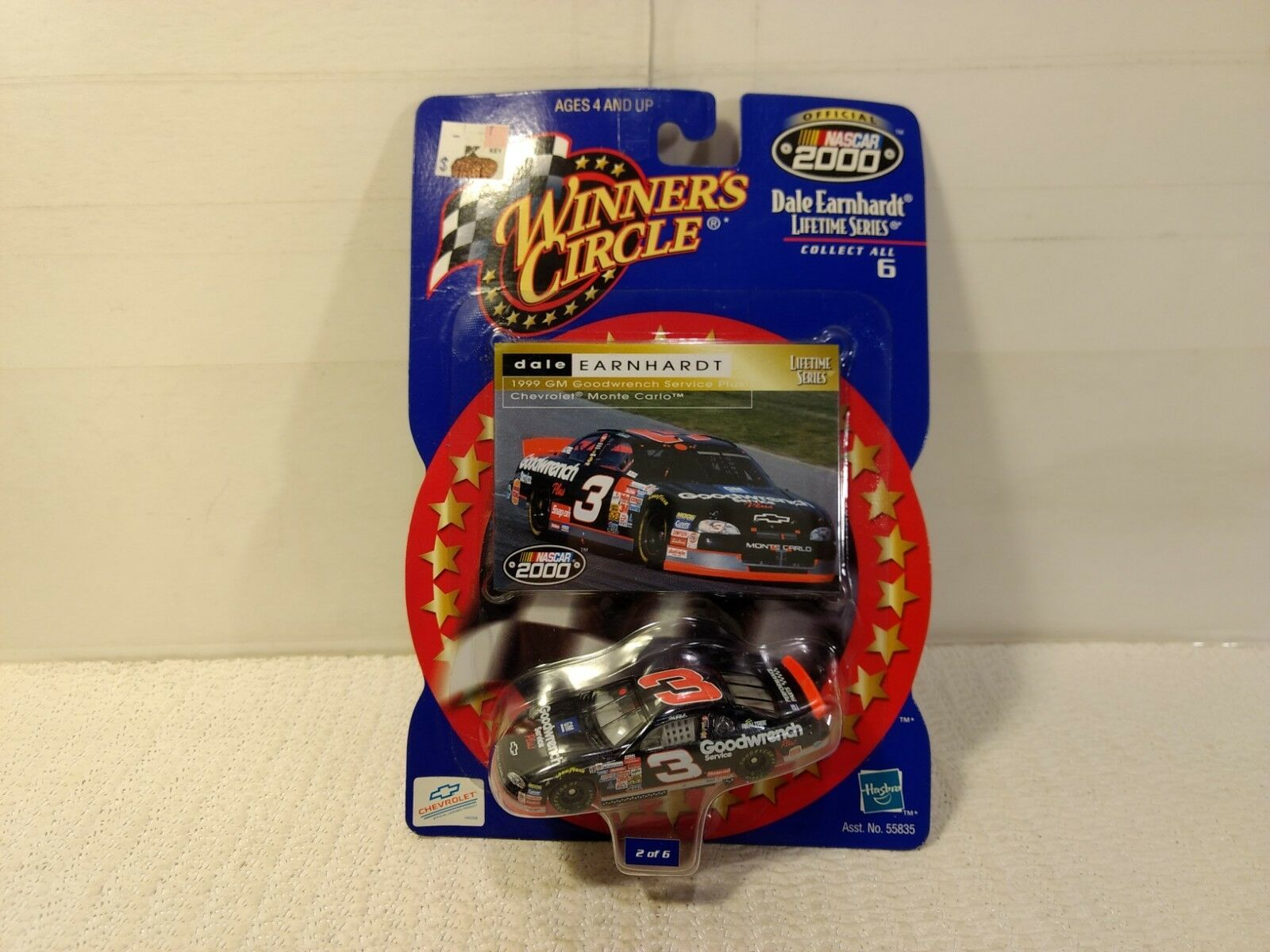 Winner's Circle Dale Earnhardt  3 GM Goodwrench Chevy Scale 1:64 Scale Chevy Diecast mb1118 e2d4ce