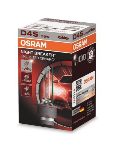 OSRAM 66440XNB XENARC NIGHT BREAKER® UNLIMITED D4S Faltschachtel P32d-5 Xenon