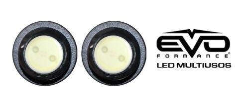 Red for Car-Truck-Bike EVO Formance LED Projector Spot Lights 100/% Waterproof
