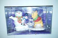 2003 Paul Cardew Disney Showcase Collection Pooh & Piglet Salt/pepper Shakers