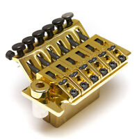 Graph Tech Lb63 Ghost Loaded Floyd Rose Style Pn-0080-g0 Bridge - Gold -
