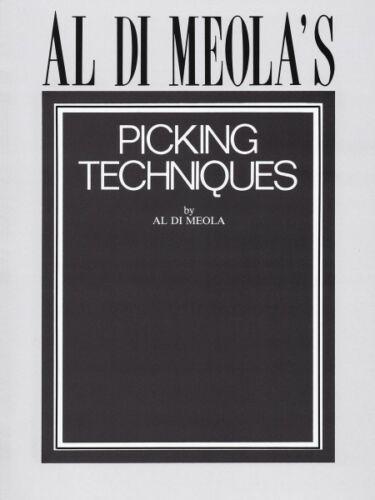Instructional NEW 000604044 Al Di Meola/'s Picking Techniques