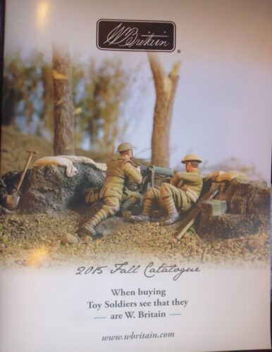 William BRITAIN soldats wbc0315-le catalogue collection chute 2015
