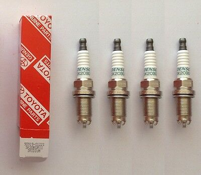 90919-01221 SK20BGR11 Triple Electrode Iridium Spark Plugs For Toyota 4 PC