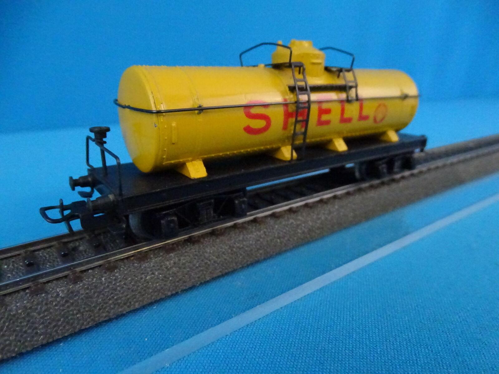 Marklin 334 S Shell Four Axled Tanker Car Vers. 2 OVP MINT