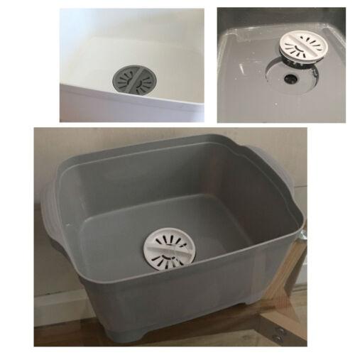 Wash /& Drain Vaisselle Bol fatiguer Plug Cuisine Caravane Wash Drain