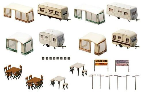 Faller h0 130503 Set camping-caravana nuevo//en el embalaje original