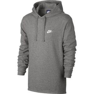 Po Capucha Nike Gris Jsy Hombre Sudadera Sportswear Club Ebay wBwHPq1