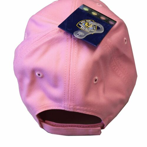 NYPD BASEBALL HAT BALL CAP PINK BLUE NEW YORK POLICE DEPARTMENT COPS WOMEN