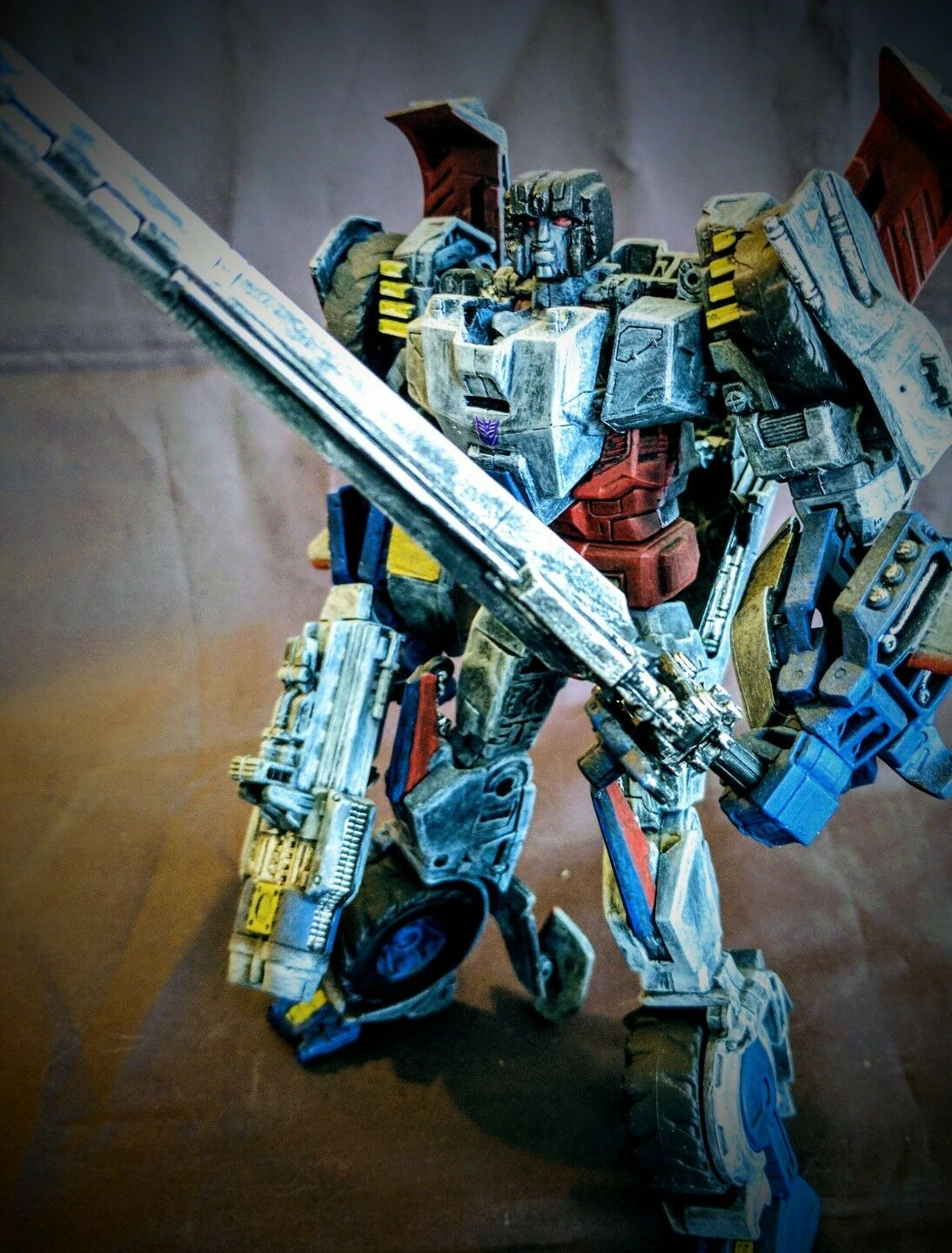 Custom Transformers - RUSTIC and READY FOR BATTLE - Custom Voyager Springer