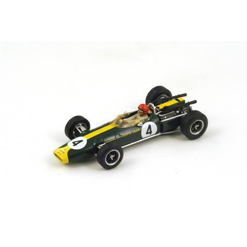 Lotus f1 43 BRM Team Lotus  4 French GP 1966 P. Arundell SPARK 1 43 s2142 Model