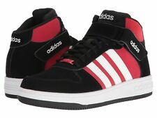 official photos 4b781 02689 Adidas Team Court Mid Sneakers Black White Bold Red Size 12 US New in Box
