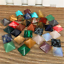 7PCS-Chakra-Pyramid-Stone-Set-Crystal-Healing-Wicca-Natural-Spirituality-Charm miniatura 4