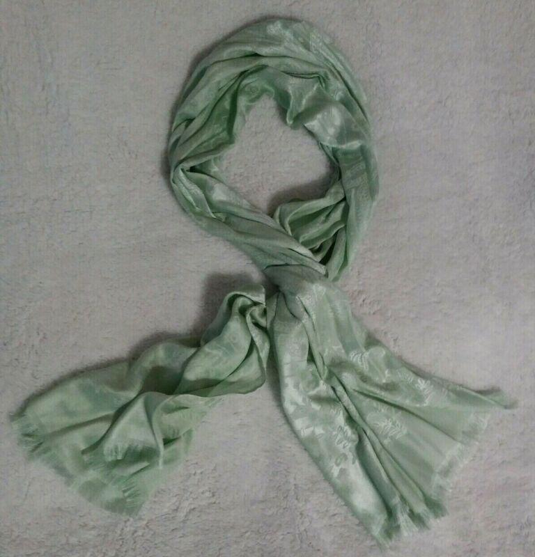 Pashmina Silk Blend Scarf Mint Green