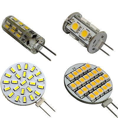 LED G4 Fassung 12V AC/DC DC 1-10 Watt Lampe Leuchtmittel Leuchte Teller Stift