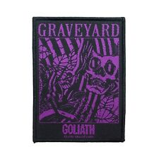 """Graveyard Goliath"" Lights Out Album Song Art Rock Band Sew On Applique Patch"