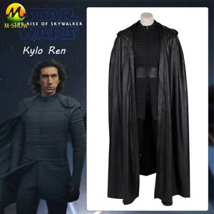 Star Wars Kylo Ren Cosplay Costume The Rise Of Skywalker Superhero Outfit Adult Ebay