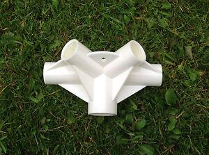 Belvédère Rechange/pièces Détachées: 5-way Toit Milieu Connecteur - 26mm,33mm (