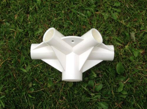 Gartenlaube Ersatz//Ersatzteile 5-way Dach Mitte Verbindung Argos 26mm,33mm
