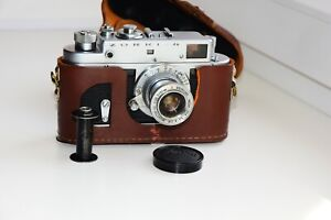 Zorki-4-Export-1972-USSR-Rangefinder-Film-Camera-copy-Leica-w-s-lens-Industar-22
