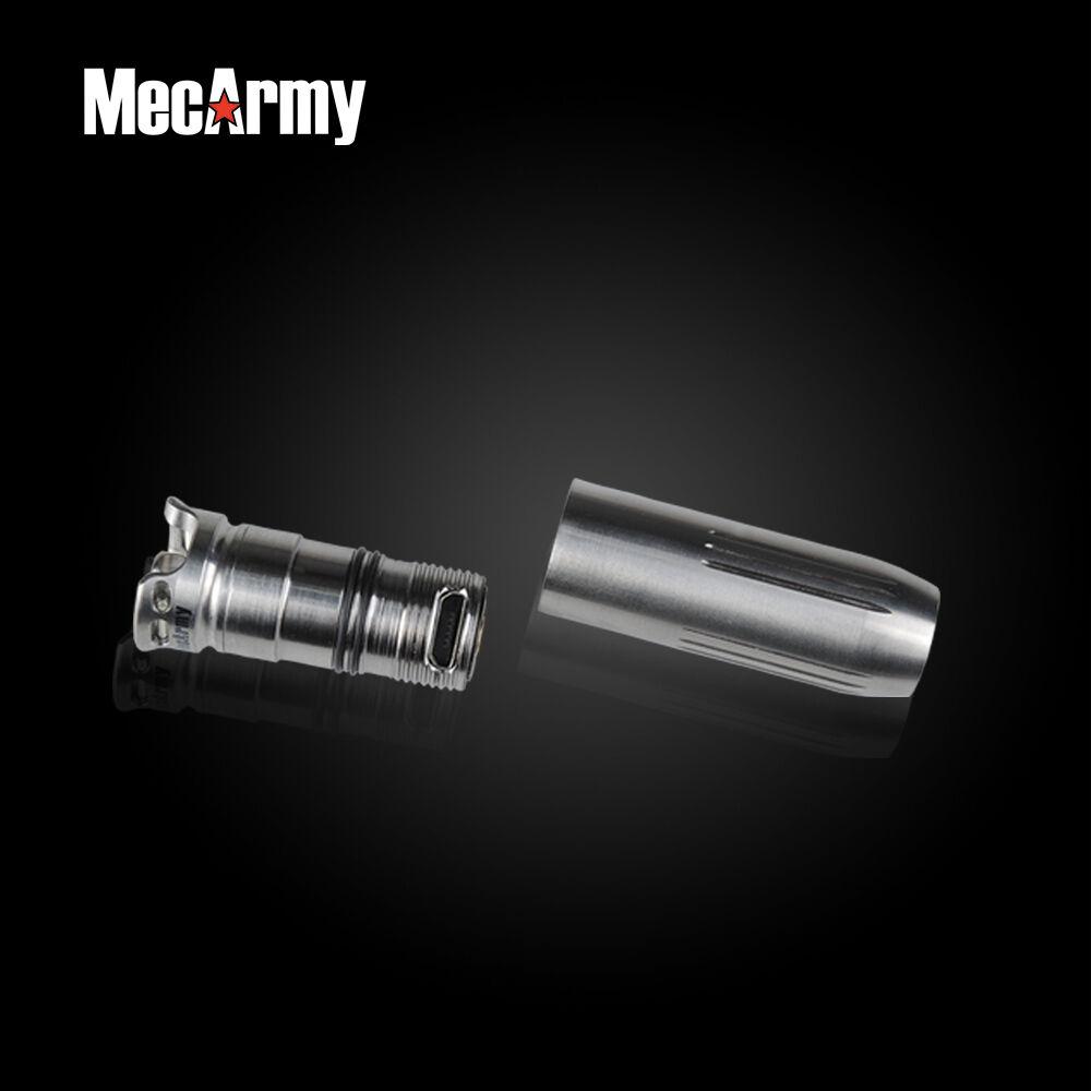 MecArmy BL43 Titanium 130 Lumen Super Super Super Mini Rechargeable Keychain Flashlight 90f1c3