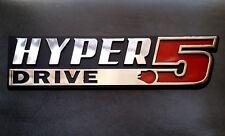Hyper Drive Star Wars Car Emblem - Chrome Plastic Not a Decal / Sticker