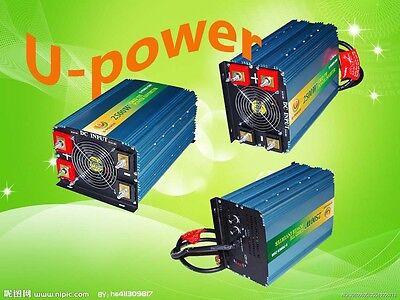 2500W Grid Tie Inverter 52V-88VDC/110VAC With MPPT Charger 48V(72VMP)Solar Panel