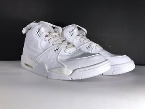 factory price d05c5 c6f38 Image is loading NIKE-AIR-FLIGHT-89-LE-QS-White-Black-
