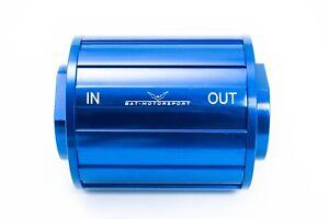 Highflow Fuel Filter 70mm Blue