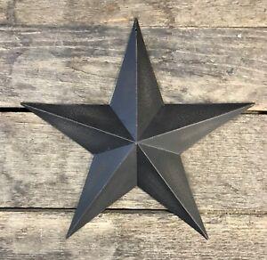 Tin-Metal-Americana-12-034-Black-Country-Barn-Star