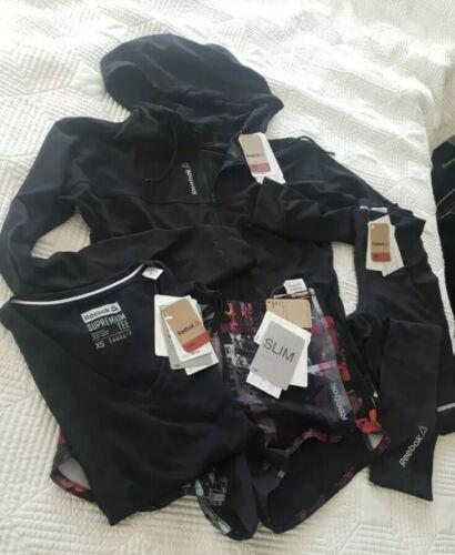 legging short Reebok Crossfit Bundle XS T-shirt sweat à capuche Track Top