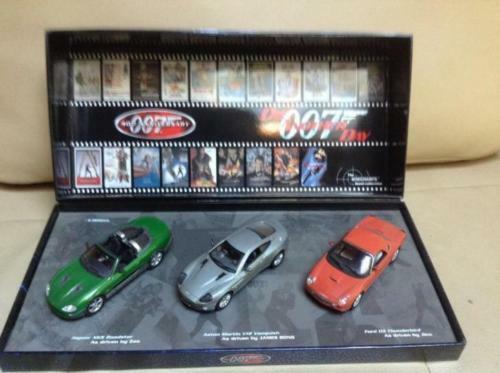 1 43 MINICHAMPS JAMES BOND COLLECTION DIE ANOTHER DAY SET 007 LIMITED EDITION