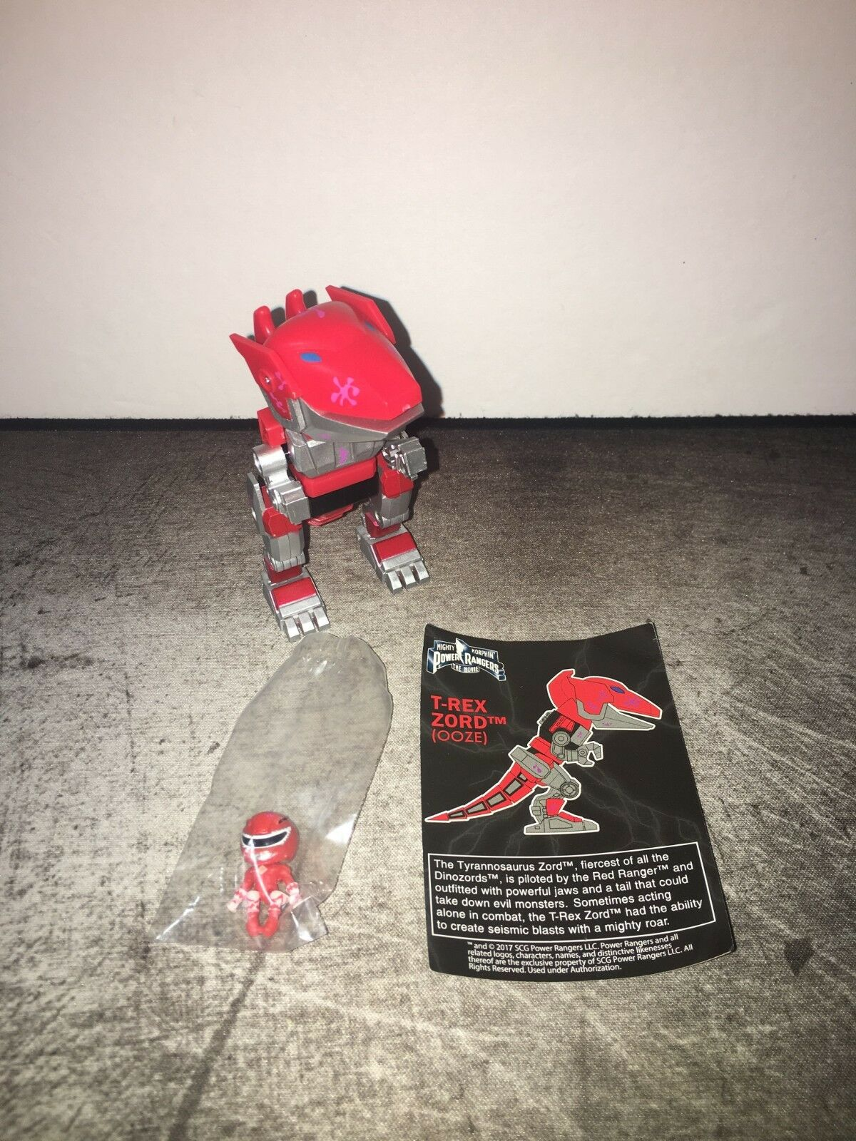 Power Rangers The Movie MMPR Ooze Ooze Ooze T-Rex - Rare The Loyal Subjects d7011f