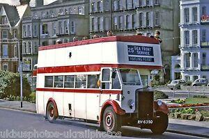 Portsmouth-Corporation-6-RV6360-Leyland-TD4-Bus-Photo-Ref-P575